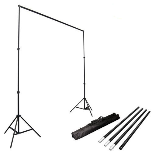 LimoStudio Photo Video Studio 10Ft Adjustable Background Support System