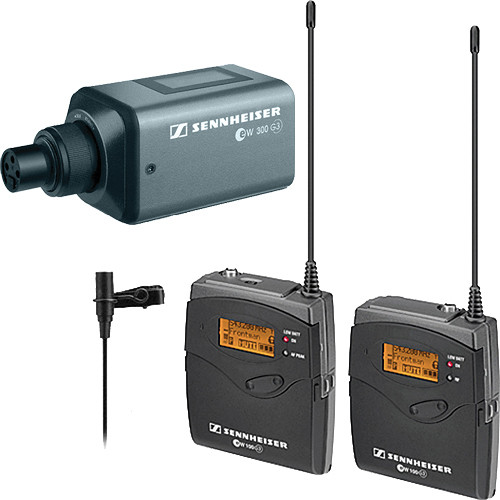 Sennheiser G3 Wireless Mic Kit / Plug-on Transmitter -Freq A