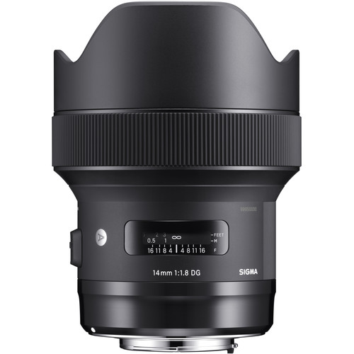 Sigma 14mm f/1.8 DG HSM ART Lens for Canon EF