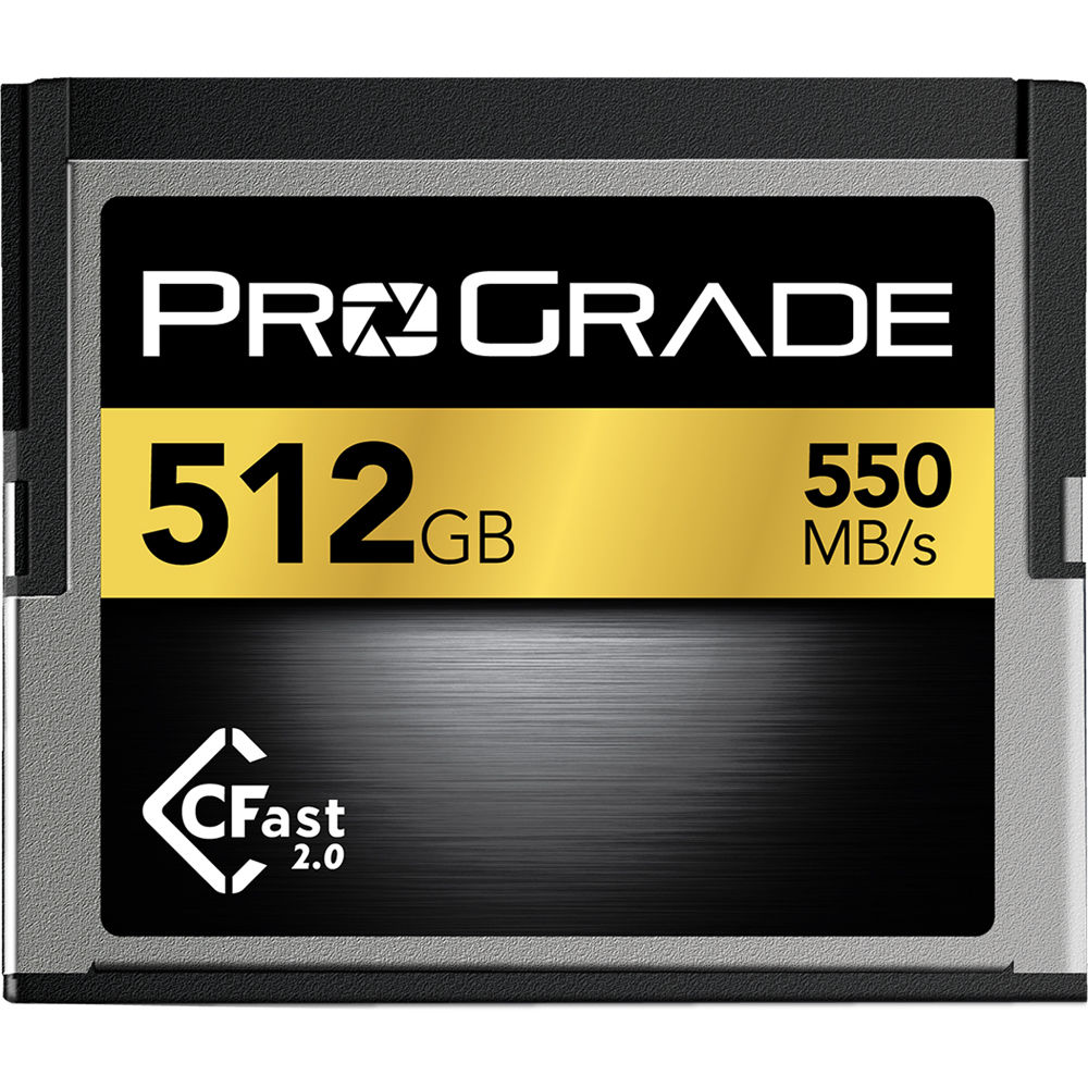 ProGrade Digital CFast 2.0 512GB Memory Card