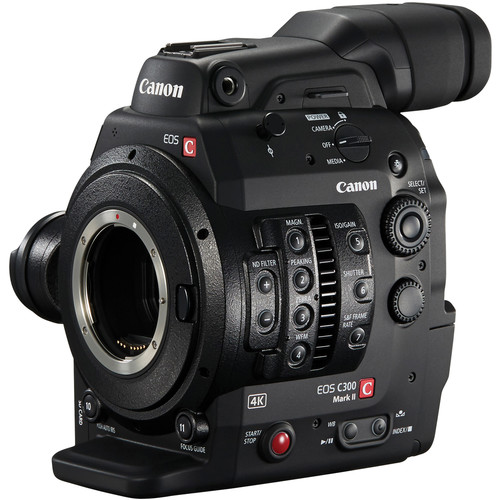 Canon EOS C300 Mark II with Dual Pixel CMOS AF (EF Mount)