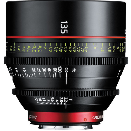 Canon CN-E 135mm T2.2 L F Cinema Lens