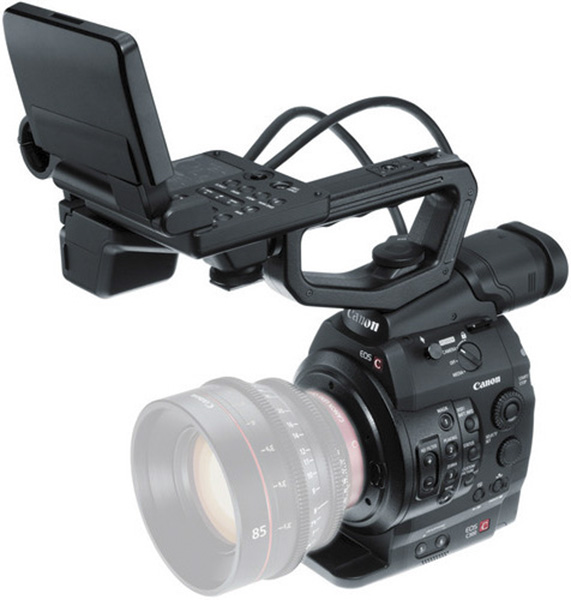 Canon EOS C300 with Dual Pixel CMOS AF Upgrade (EF Mount)
