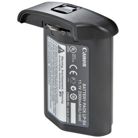 Canon LP-E4 Rechargeable Li-ion Battery (Extra battery for Canon 1D Mark III and 1Ds Mark III)