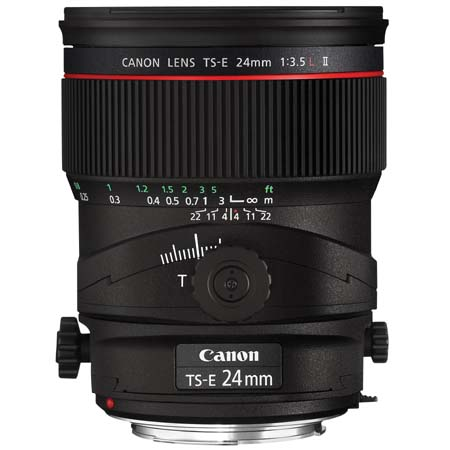 Canon TS-E 24mm f/3.5L II Tilt Shift
