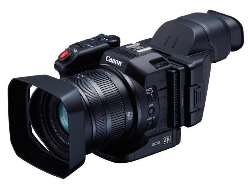 Canon XC10 Ultra High Definition 4K Professional Camcorder