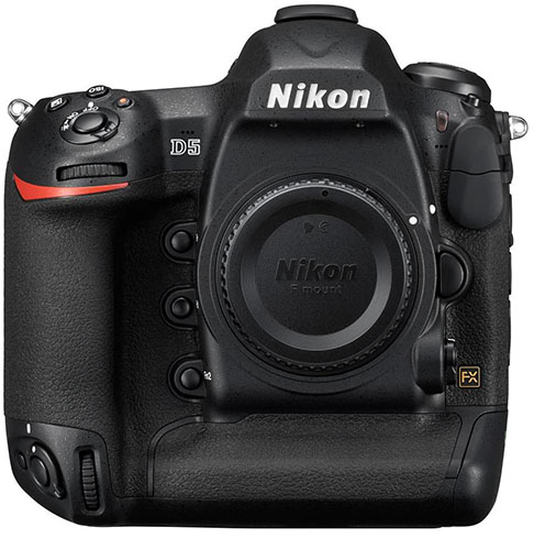 Nikon D5 FX-Format Digital SLR Camera Body (XQD Version)