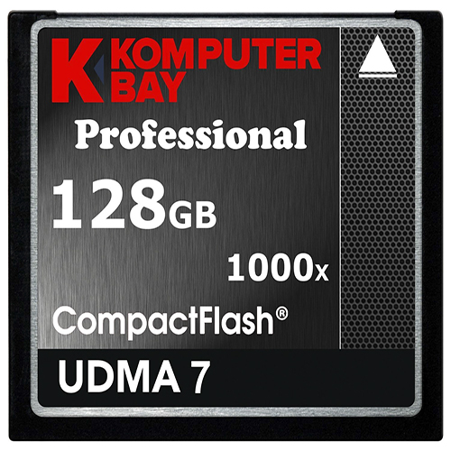 Komputer Bay 128GB Professional CompactFlash Card