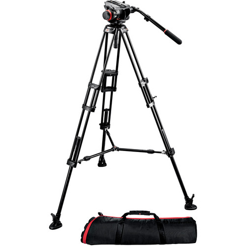 Manfrotto Deluxe Blackmagic Cinema Tripod Bundle