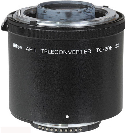 Nikon TC-20E  2x Teleconverter for AF-S AF-I