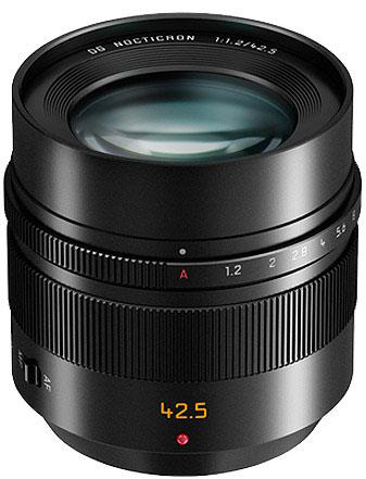 Panasonic Lumix G Leica DG Nocticron 42.5mm f/1.2 Aspherical POWER O.I.S Lens for Micro Four Thirds