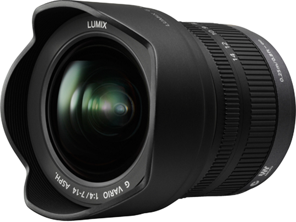 Panasonic Lumix G Vario 7-14mm f/4 Zoom Lens for Micro Four Thirds