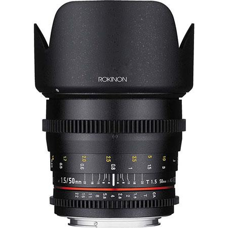 Rokinon 50mm T1.5 AS UMC Cine DS Lens for Sony E Mount