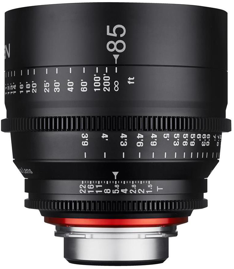 Rokinon Xeen 85mm T1.5 Cine Lens for Canon EF-Mount