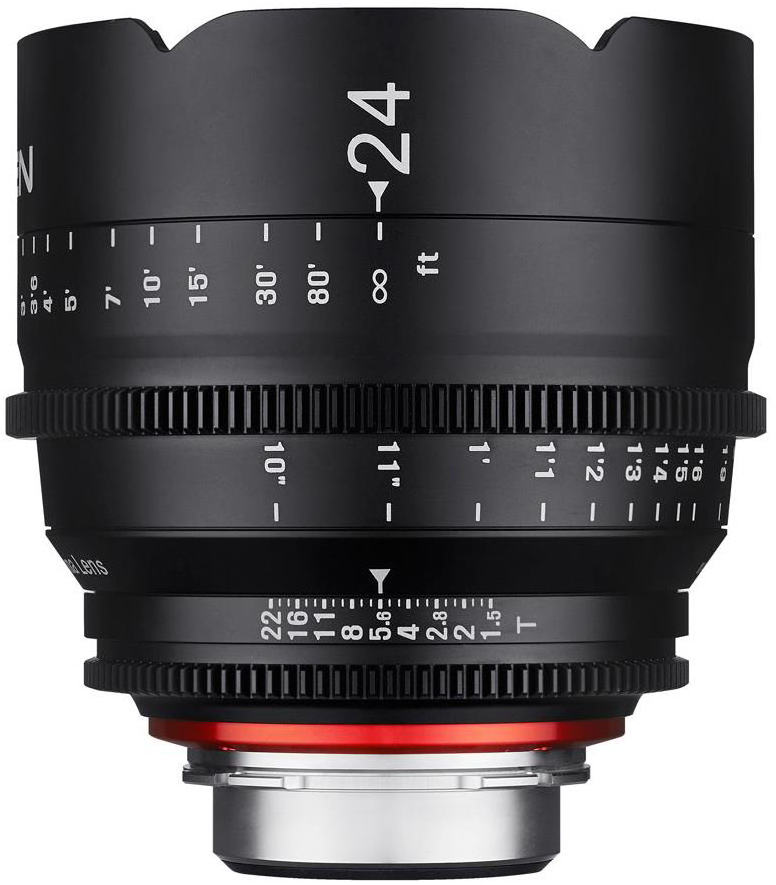 Rokinon Xeen 24mm T1.5 Cine Lens for Canon EF-Mount