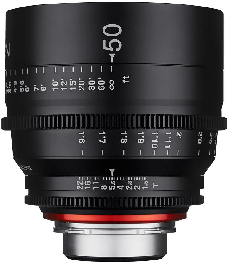 Rokinon Xeen 50mm T1.5 Cine Lens for Canon EF-Mount