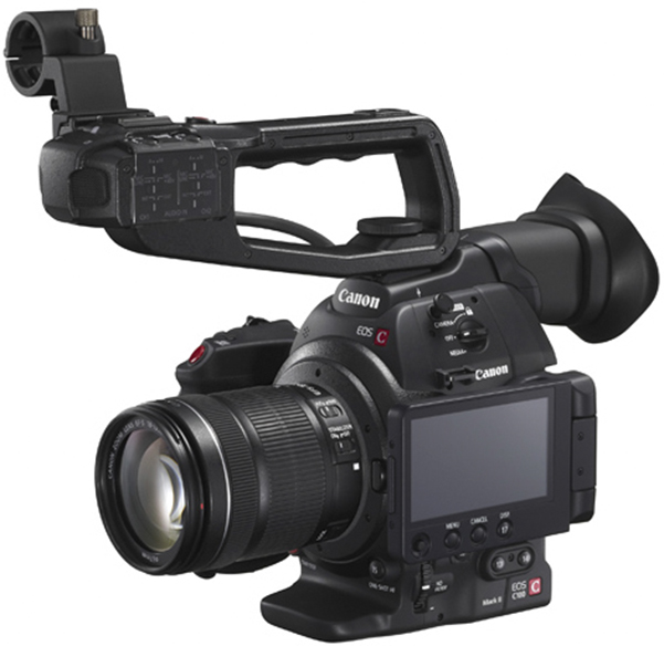 Canon EOS C100 Mark II with Dual Pixel CMOS AF (EF Mount)