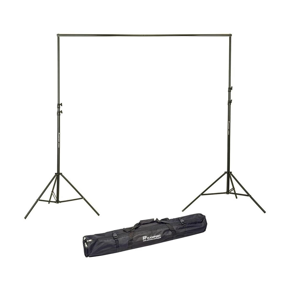Flashpoint 10' Background Support System - Cushioned