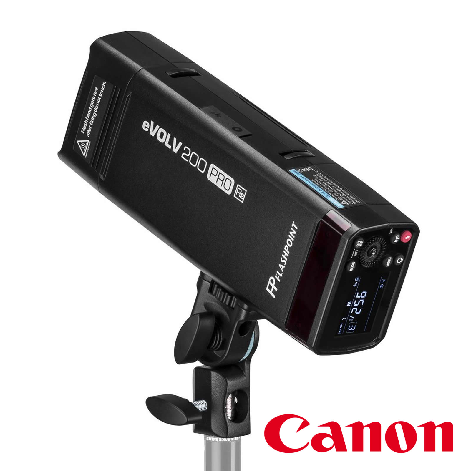 Flashpoint eVOLV 200 Pro TTL Pocket Flash Kit (Canon)