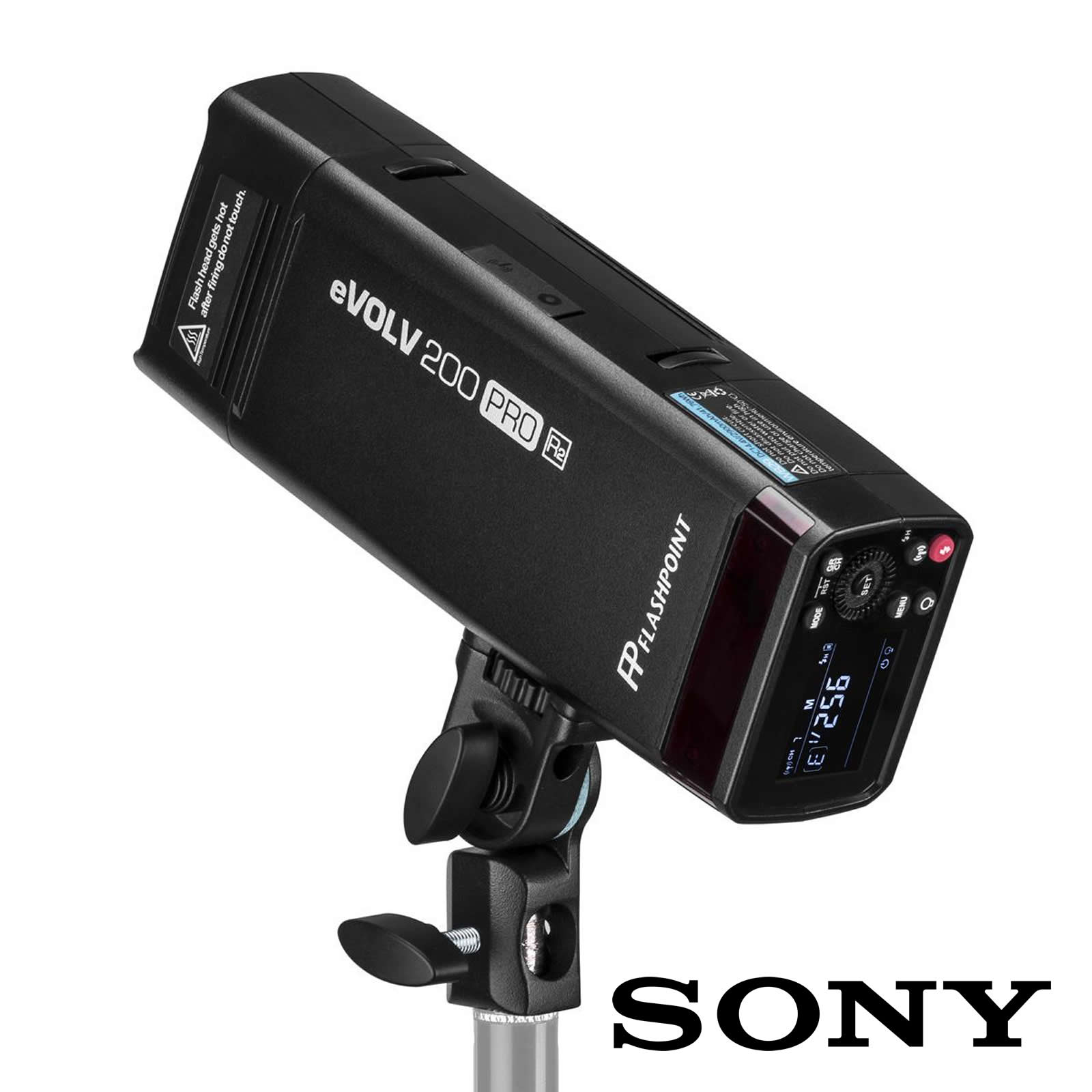 Flashpoint EVOLV 200 Pro TTL Pocket Flash Kit (Sony)