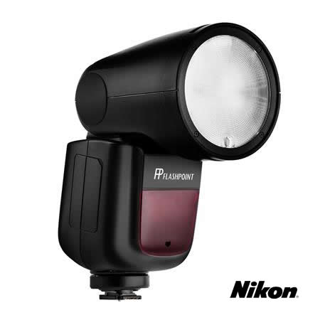 Flashpoint Zoom Li-on X R2 TTL On-Camera Round Flash Speedlight For Nikon (Godox V1)