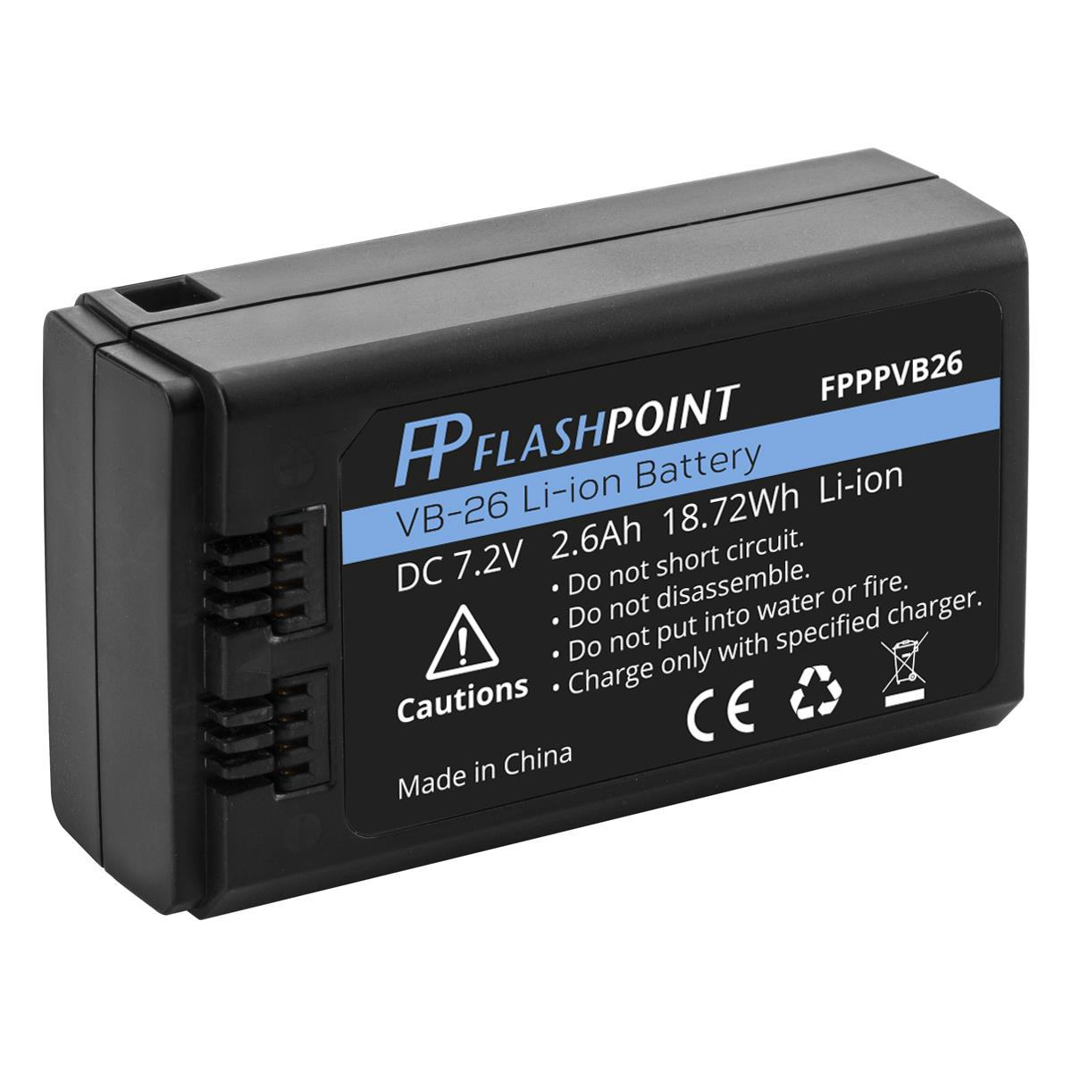 Flashpoint Zoom Li-On X Extra Battery (Godox V1)