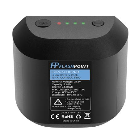 Flashpoint Rechargeable Lithium-Ion Battery Pack for XPLOR 600