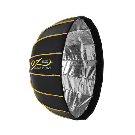 Glow EZ Lock Collapsible Silver Beauty Dish (25