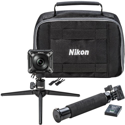 Nikon KeyMission 360 4K Action Camera Kit