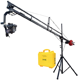 Proaim 14ft Camera Jib with 360° motorized pan tilt head