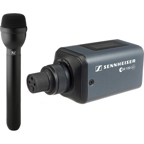 Sennheiser SKP 100 G3 Plug-on Transmitter With Microphone - Freq A