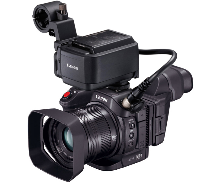 Canon XC15 4K UHD Compact Camcorder
